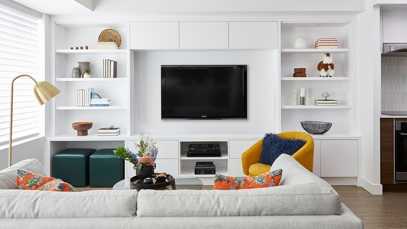 A Condo Makeover With Savvy Storage Solutions || House Home