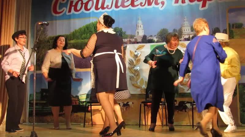 Эй вы там наверху ансамбль Марковчанка на юбилее совхоза Ардашевский