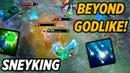 SNEYKING BEYOND GODLIKE RUBICK Highlights Dota 2