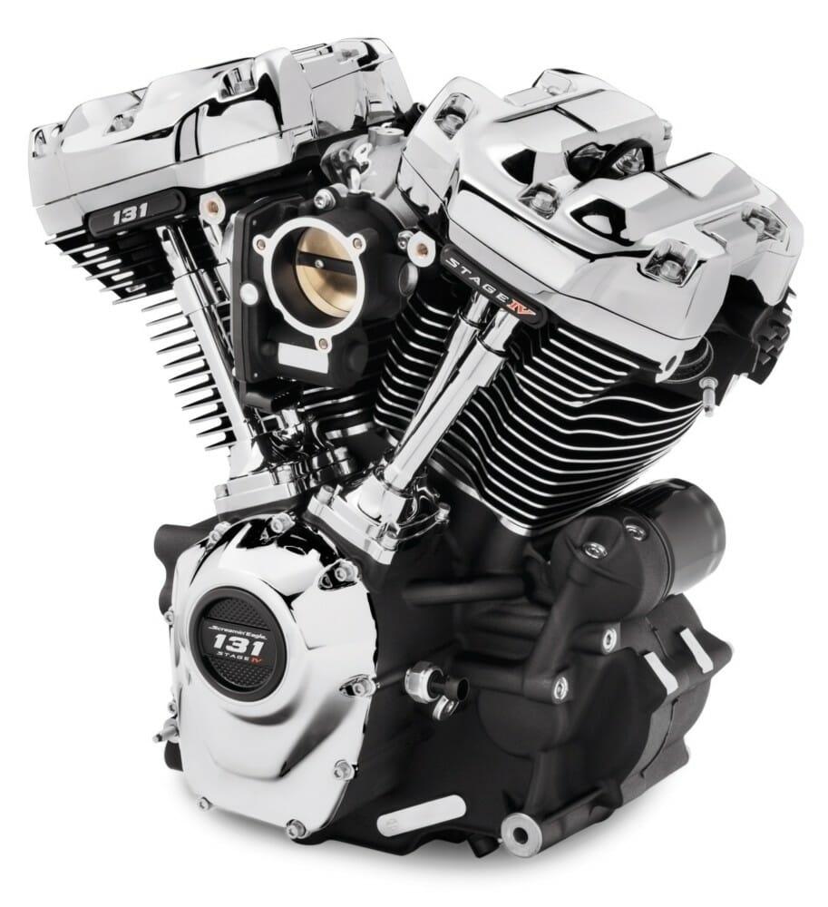 Компания Harley-Davidson предлагает новый двигатель Screamin' Eagle 131 Crate