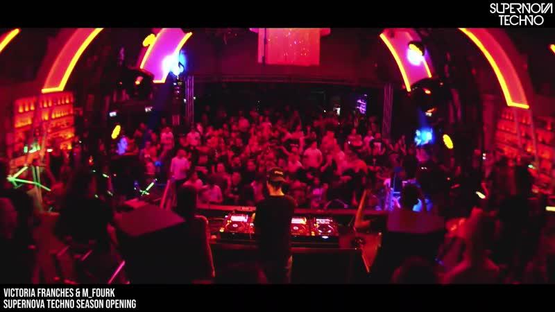 Victoria Franches b2b M fourk Supernova Techno @ Season Opening 18 01 2020