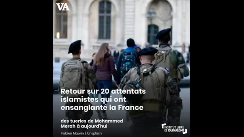 20 attentats islamistes trop vite oubliés