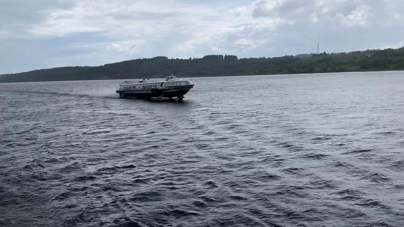 Hydrofoil on the Volga River