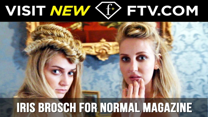 Backstage with Iris Brosch for HOT Normal Magazine Shoot