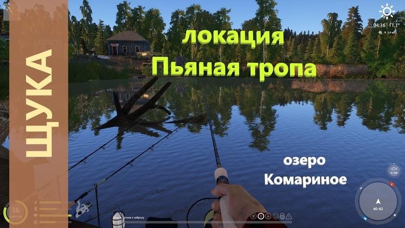 Русская рыбалка 4 озеро Комариное Щука у лодок