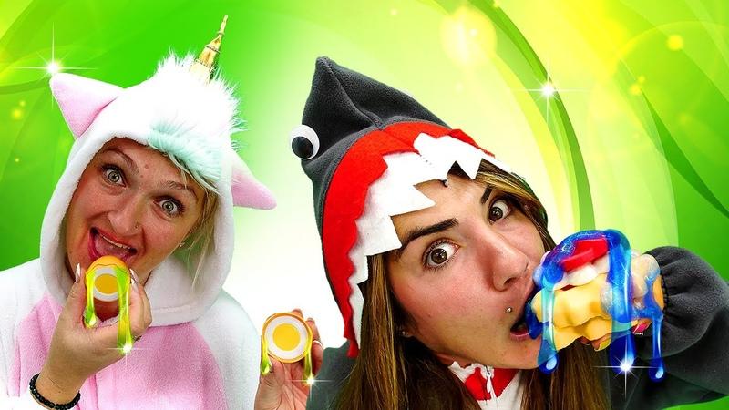 La cocina artificial de las Unicornios Disfraz de unicornios Vídeo de juegos