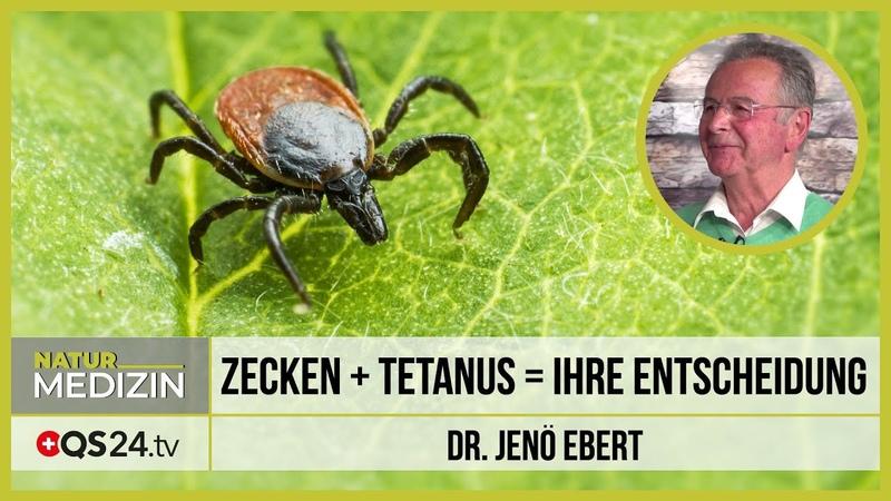 Zecken und Tetanus = Ihre Entscheidung   Dr. Jenö Ebert   QS24 16.06.2020
