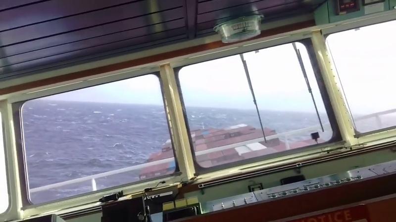 ШТОРМ, Тихий океан, Алеутские острова / STORM, NORTH PACIFIC, ALEUTIAN ISLANDS
