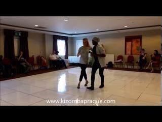 Ghetto Zouk Dance demo by Vitor Mendes & Ivona