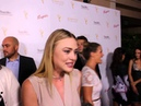 Hayley Erin of General Hospital at Daytime Emmys Peer Reception