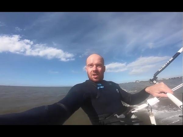 Capta un meteorito a sus espaldas mientras se graba haciendo 'kitesurf'
