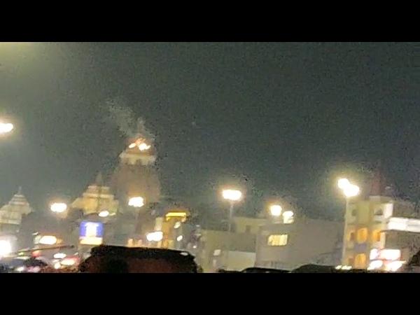 Odisha Patitapabana Bana Atop Lord Jagannath Temple in puri catches fire