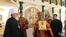 Слово митрополита Воронежского и Лискинского Сергия после совершения чина Великого освящения Спасского храма