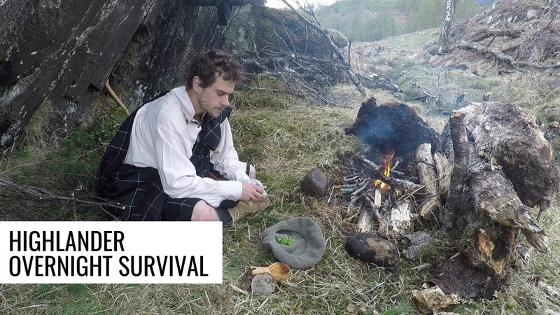 Overnight Survival as a 17th Century Highlander (sleeping in the plaid)
