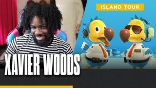Austin Creed's (Xavier Woods) Training Dojo Island Tour - Animal Crossing: New Horizons