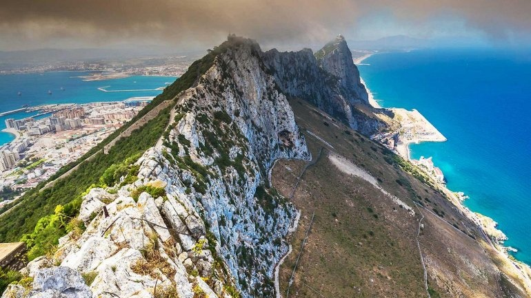 Интересные места нашей планеты Гибралтарская скала (Великобритания), изображение №2
