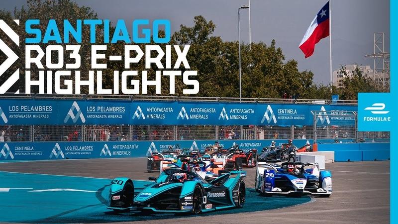 Last Lap Drama! Race Highlights - 2020 Antofagasta Minerals Santiago E-Prix