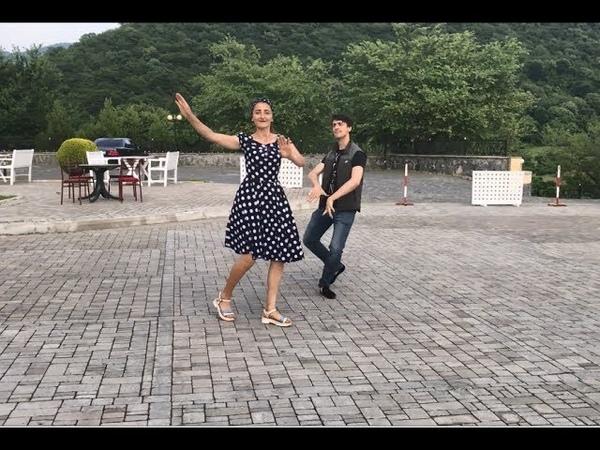 Очень Крутой Танец Девушка Танцует Очень Класс С Ребятами Из Кавказа 2020 Лезгинка ALISHKA MADINA