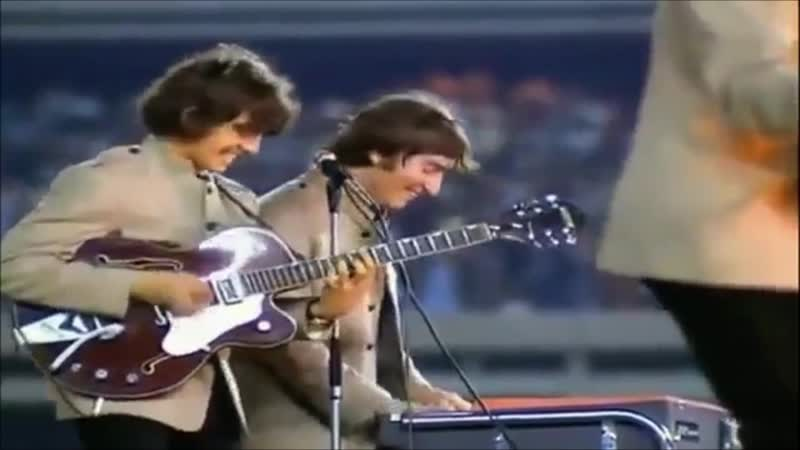 The Beatles - Im Down (Live At Shea Stadium 15 August 1965)