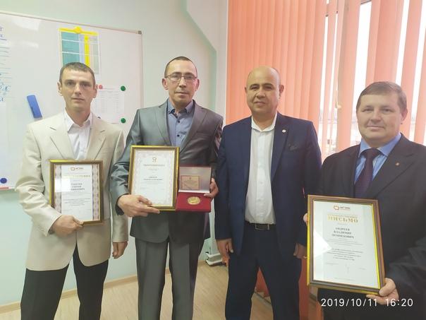 В филиале ПСЦМ наградили лучших работников за многолетний добросовестный труд...