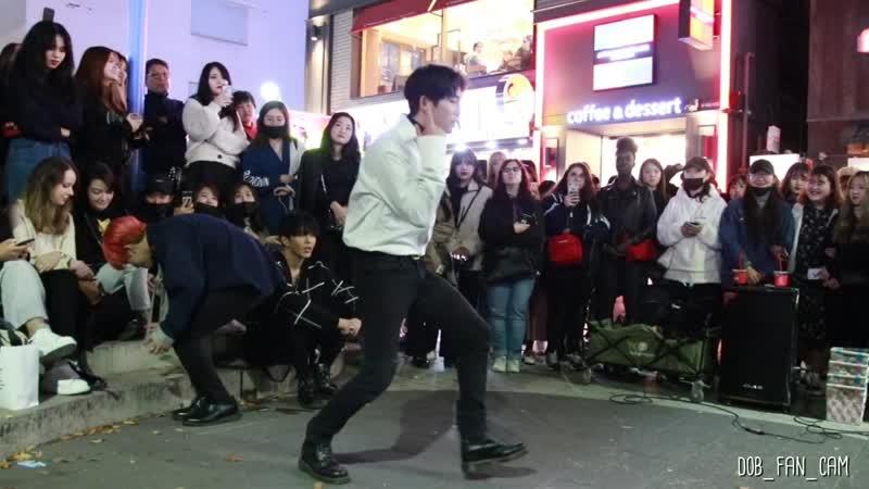 DOB 디오비 191101 홍대공연 1차 EXO 엑소 닿은순간 ooh la la la 안용진 solo