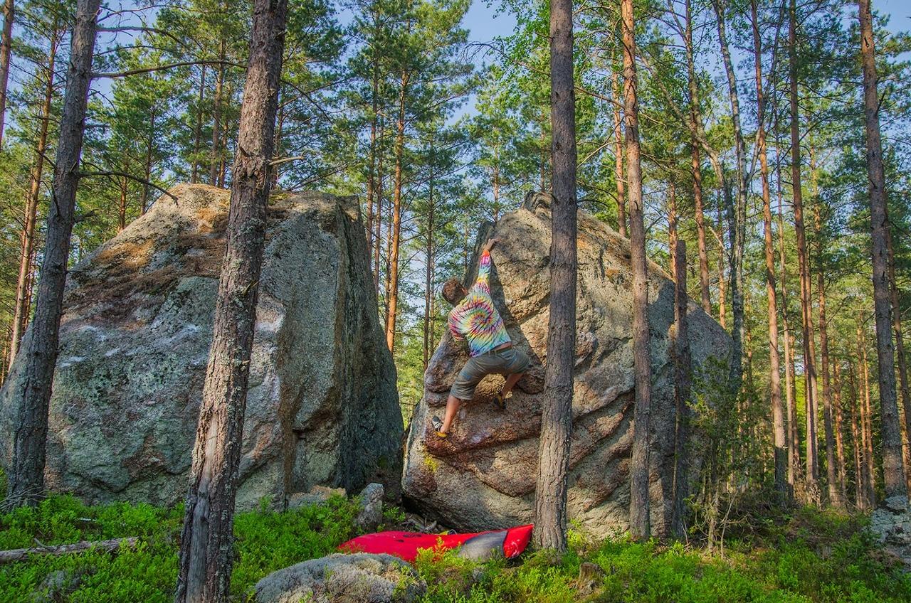 Расколотые камни, мегалиты в Скандинавии