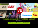 Стрим Toon Boom Harmony vs Adobe Animate