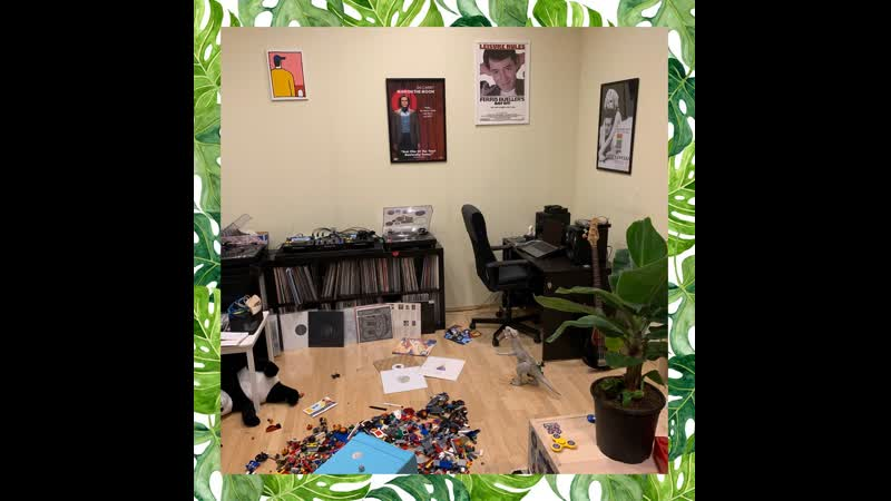 Isolation Mix2_ Records Panda Lego Task Chair Movie Posters Home Plant