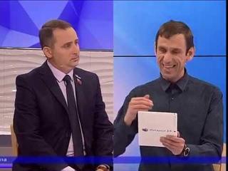 """Андрей Губарев в передаче """"Открытая студия""""."""