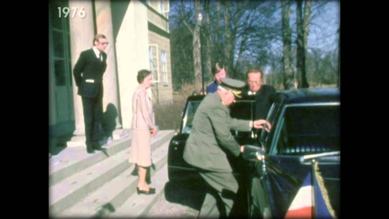 Tito u posjeti Svedskoj prikljestena ruka