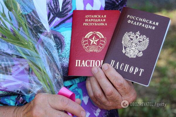 Паспорта России на Донбассе: оккупанты делают циничные угрозы