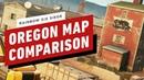 Rainbow Six Siege Oregon Map Comparison