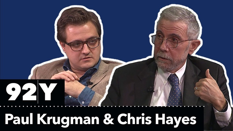 Paul Krugman in Conversation with Chris Hayes: The GOP Tax Plan