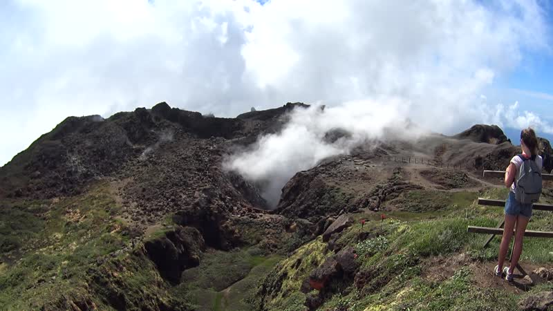 Гваделупа Вулкан
