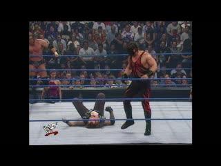 WWF SmackDown  - Kurt Angle, Chris Benoit & Kane vs Triple H, Undertaker & the Rock