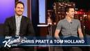 Tom Holland Surprises Chris Pratt