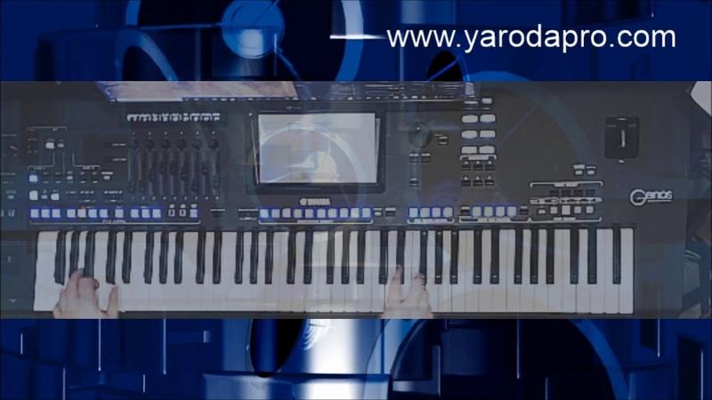 Yamaha Genos mit Effekten DSPs DSP spielen und Registration memory