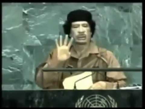 Gaddafis Rede die ihm das Leben kostete