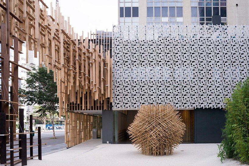Kengo Kuma-designed culture center in São Paulo is Japan house's first outpost