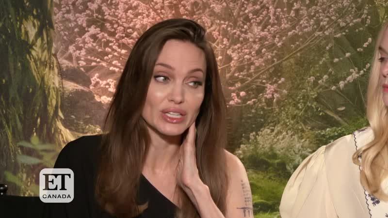 Angelina Jolie On Kids Visiting Her On Set Of Maleficent_ Mistress Of Evil _ E