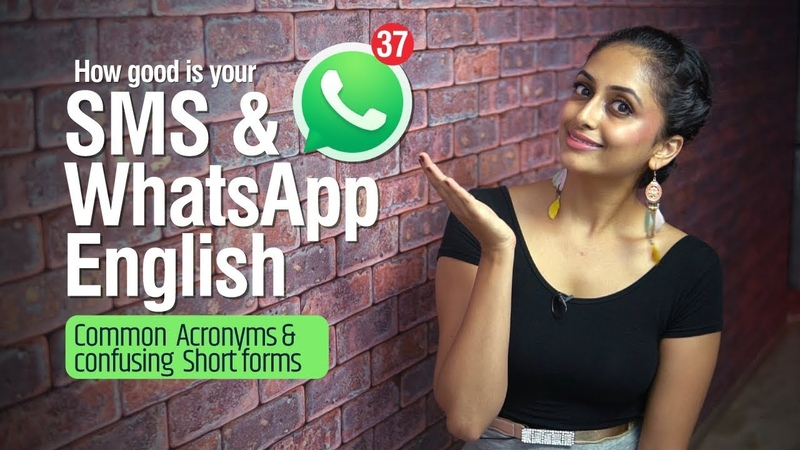 SMS WHATSAPP English Popular Internet Slang Words Acronyms Abbreviations in daily Texting
