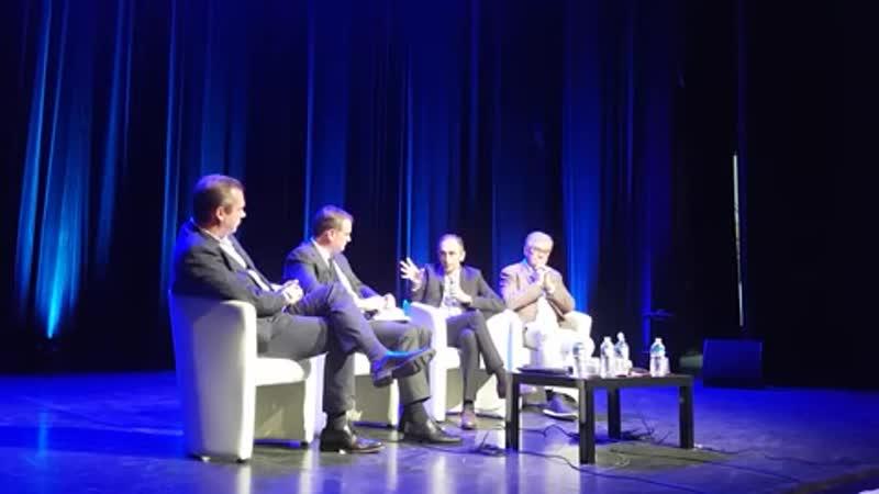 Conférence d'Eric Zemmour avec Louis Aliot pour le Destin Français