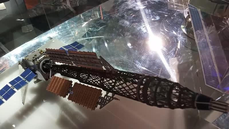 Макет ядерного модуля ТЭМ на МАКС-2019