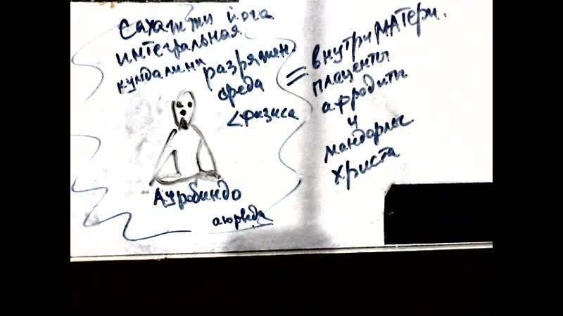 Video 5715. ауробиндо внутри плаценты афродиты