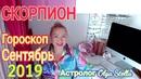 СКОРПИОН ГОРОСКОП на СЕНТЯБРЬ 2019 НОВОЛУНИЕ и ПОЛНОЛУНИЕ в СЕНТЯБРЕ 2019