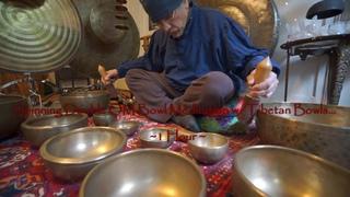 Double OM Tibetan Bowl Meditation for Aura Balance ~ 1 Hour
