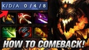 MIRACLE SF - HOW TO COMEBACK - DOTA 2