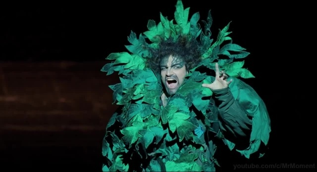 Филипп и Дрисс в опере. Он дерево? Дерево поёт. 11 Неприкасаемые. 2011.