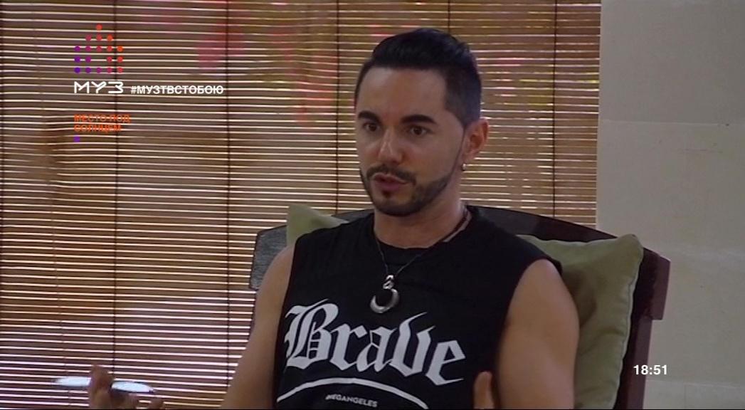 Тимур Родригез в шоу Место под солнцем на Муз-ТВ