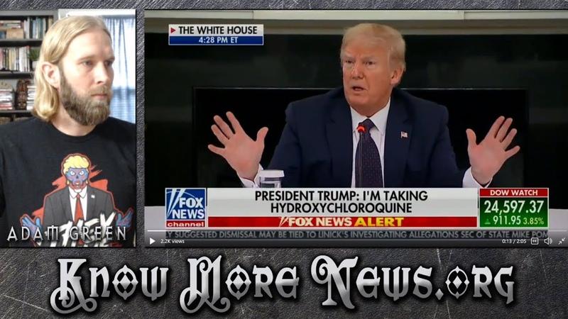 Trump Takes Hydroxychloroquine, Visa Digital Currency, Pompeo Saudis | KMN LIVE